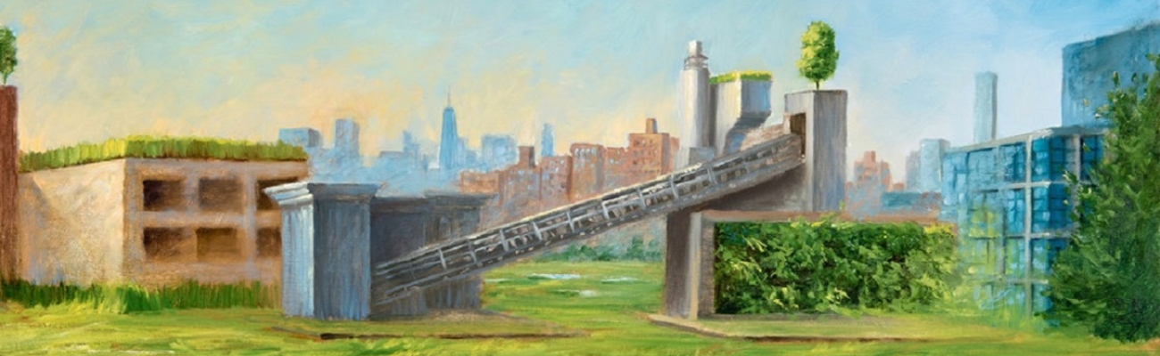 Re-imagined cement facility on the Gowanus Canal