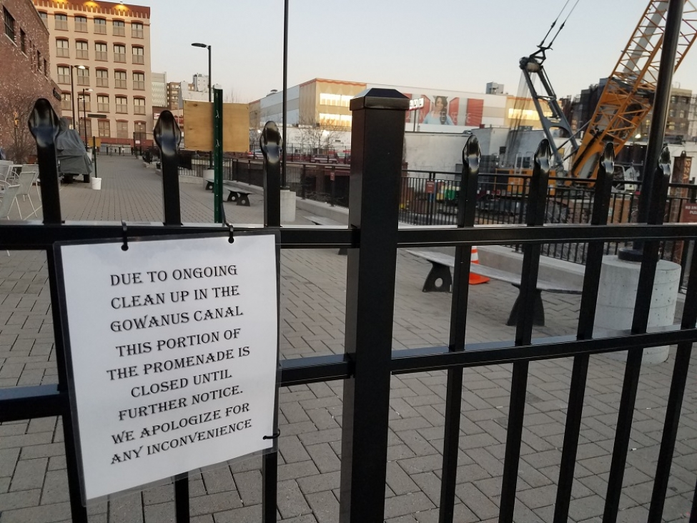 Boring, Sad & Useless Whole Foods Walkway Now Closed by EPA Damage