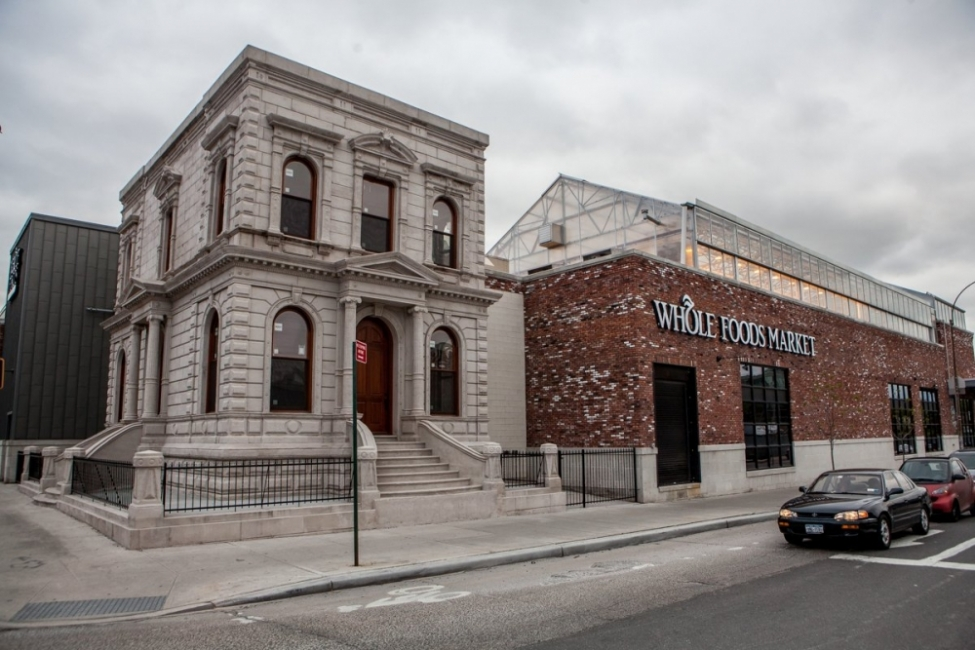 Restored  New York and Long Island Coignet Stone Company Building