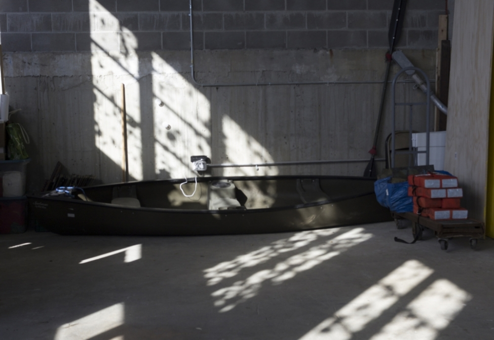Sift / Reflect on Walls and Boathouse Floor