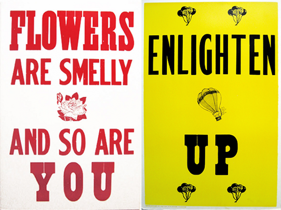 Flowers Are Smelly & Enlighten Up by George Horner