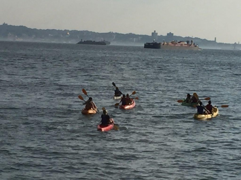 Red Hook Boaters Venture into Open Water