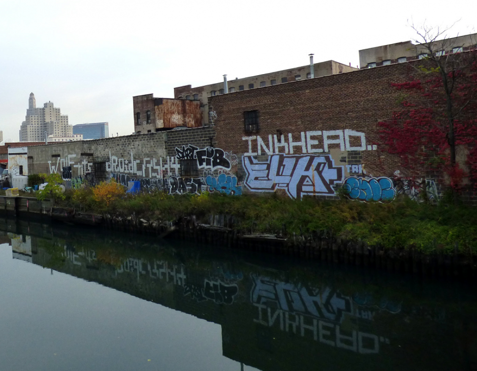 View of Gowanus Canal
